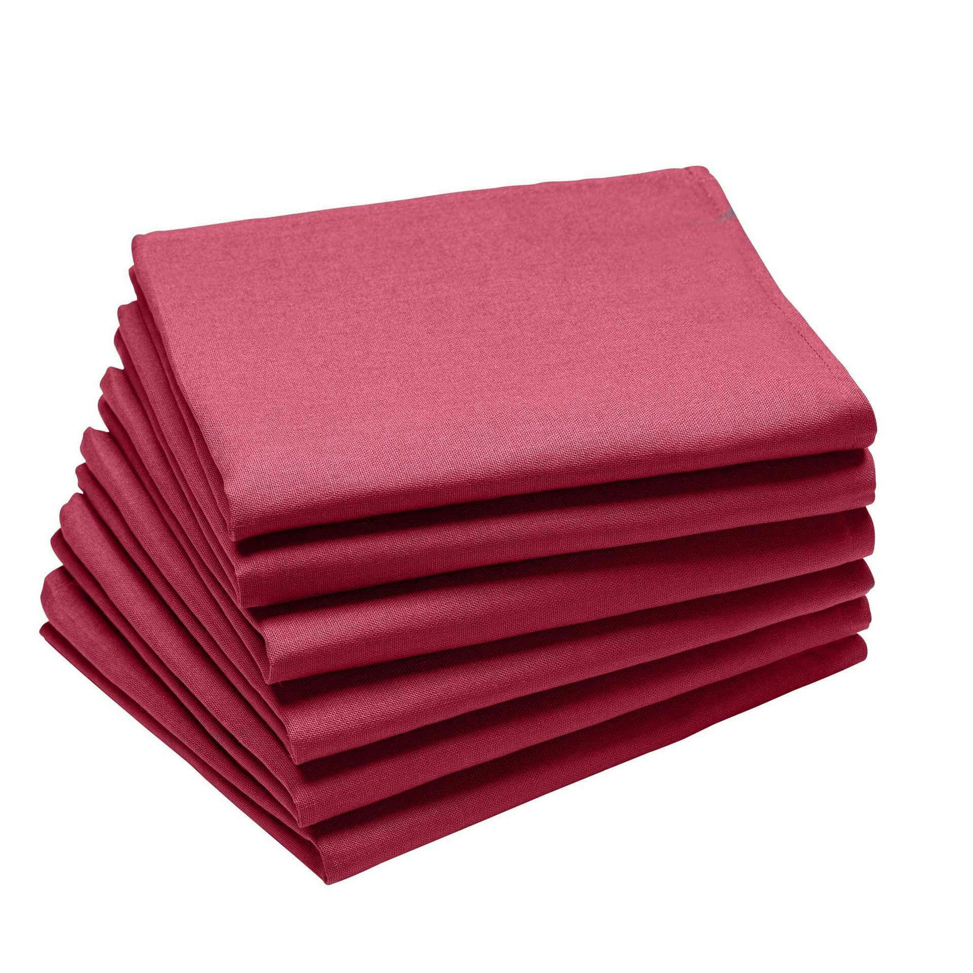 Serviettes de table Griotte
