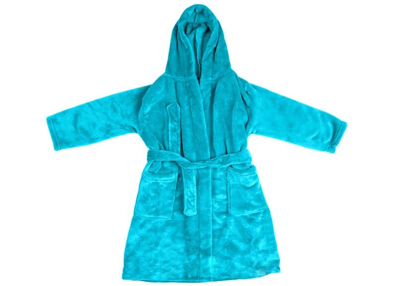 Robe De Chambre Fille Et Garcon 4 A 12 Ans Ligne Verte